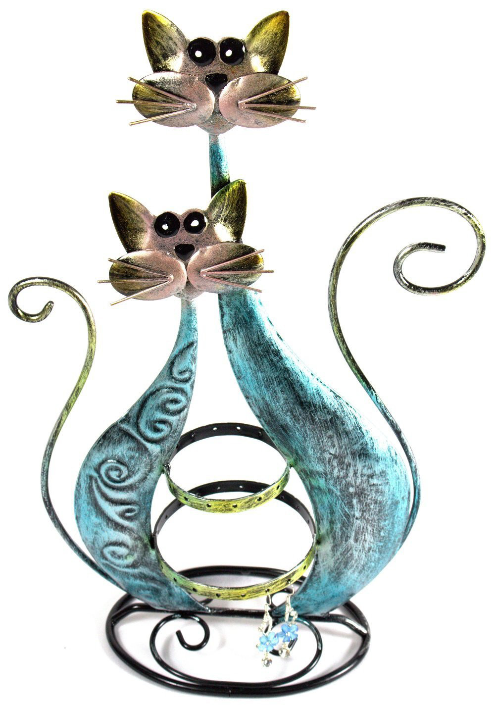 Cute Cat Shaped Jewelry Holder Stand