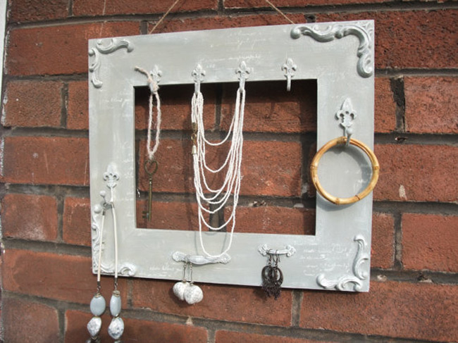 Minimalist Picture Frame Only Jewelry Holder