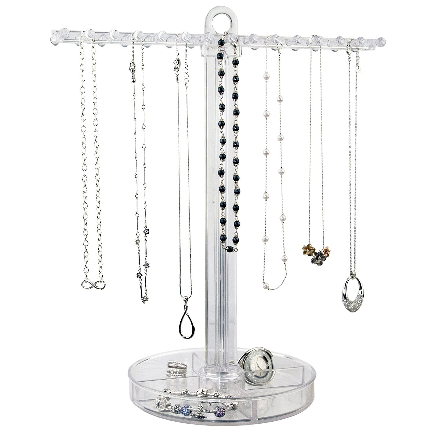 Beautiful T-Bar Style Acrylic Necklace Holder