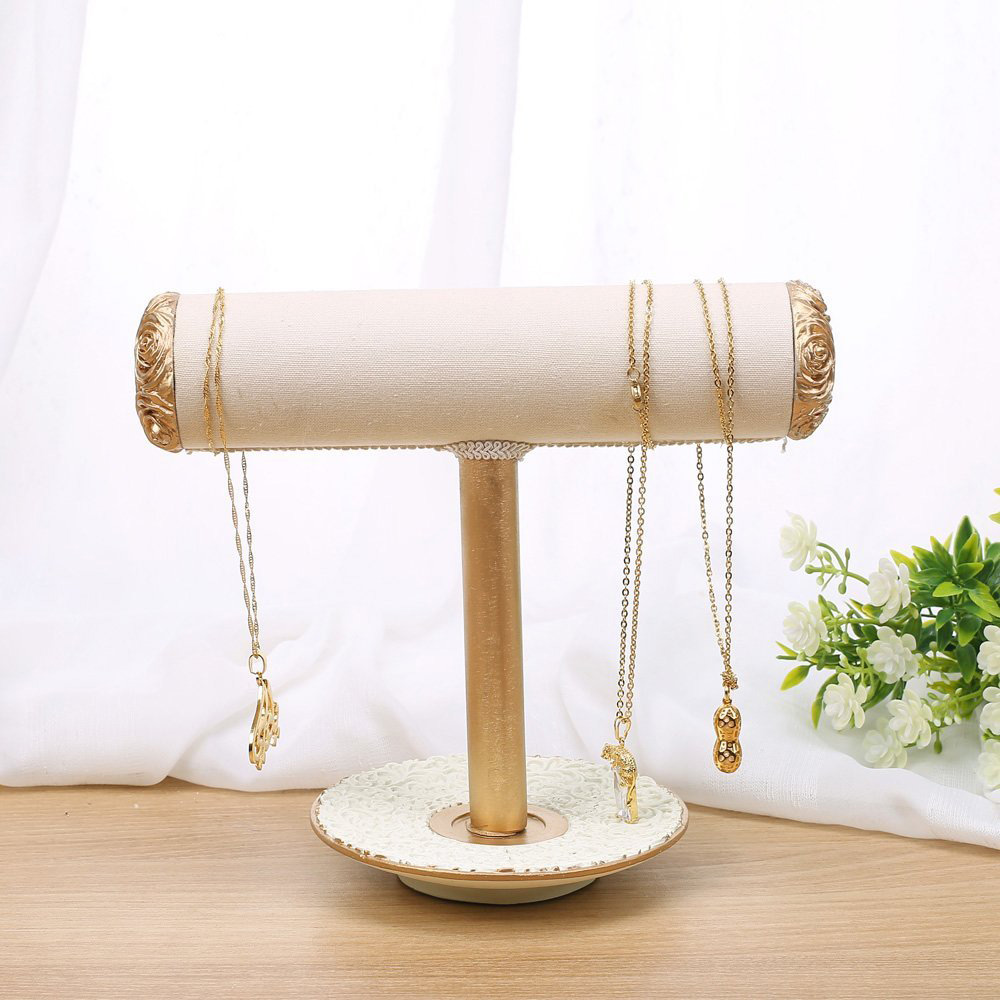 Beautiful & Elegant T-Bar Jewelry Holder Stand