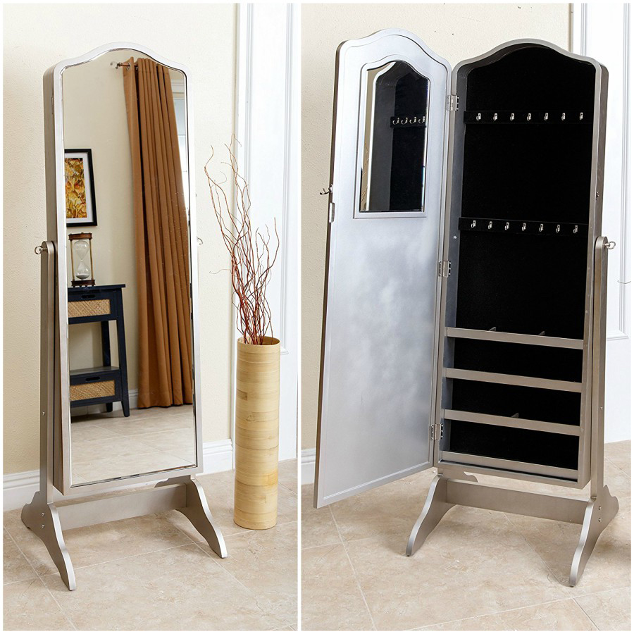 the 15 best standing mirror jewelry armoires zen. Black Bedroom Furniture Sets. Home Design Ideas