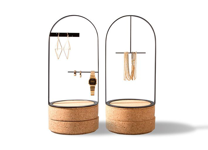Elegant Minimalist Jewelry Holder Stands Set
