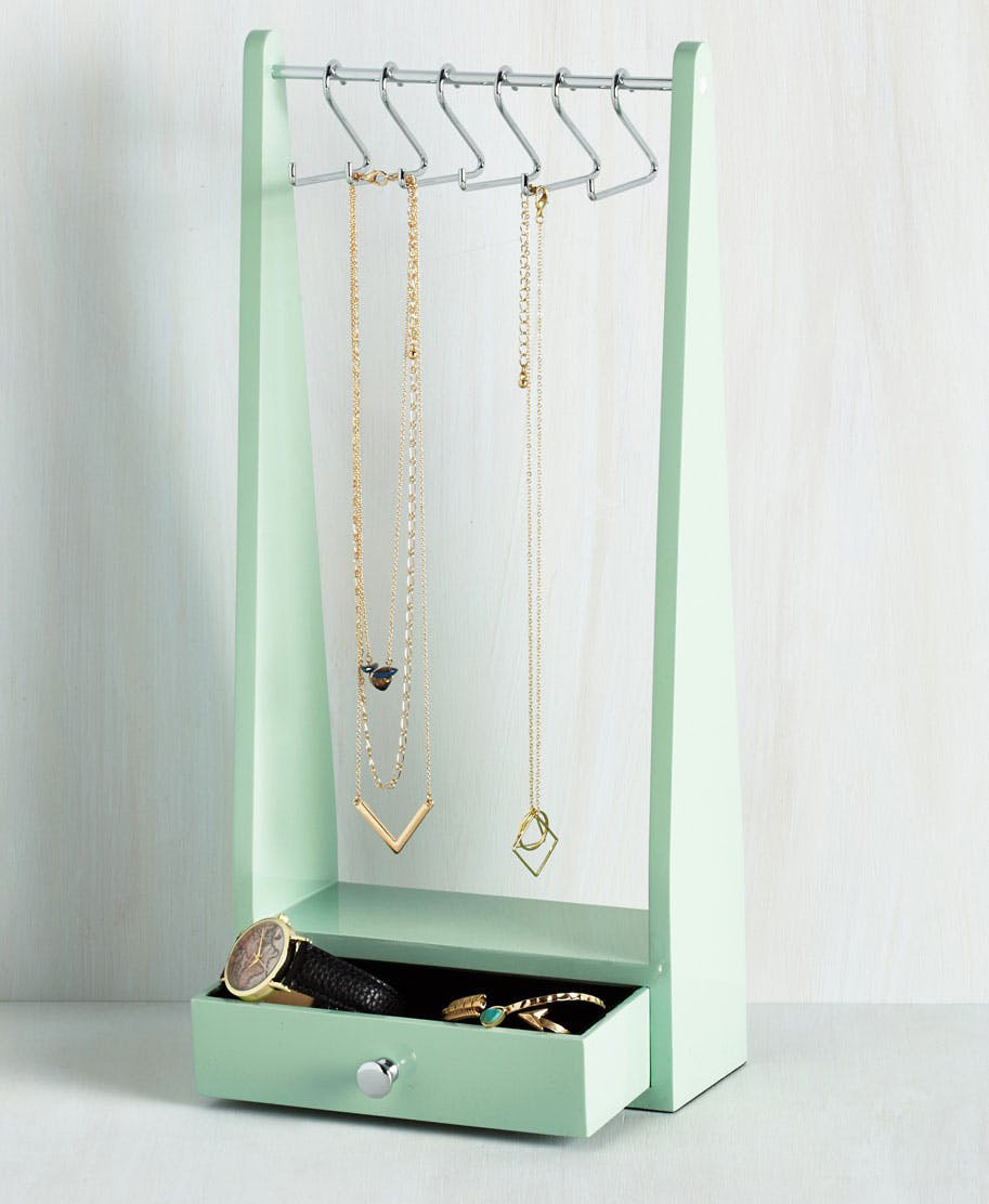 Cute Lime Green Jewelry Holder Stand