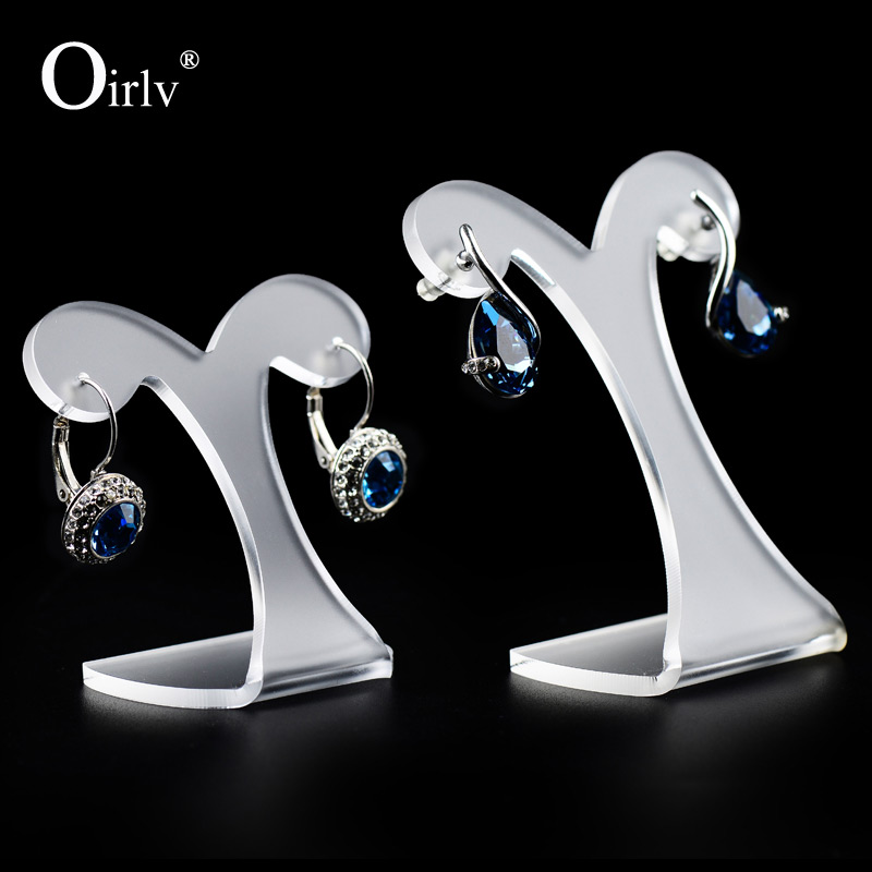 Beautiful Translucent Acrylic Jewelry Holders