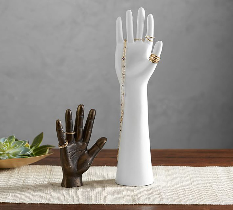 Beautiful mannequin Hands Jewelry Holder Stands