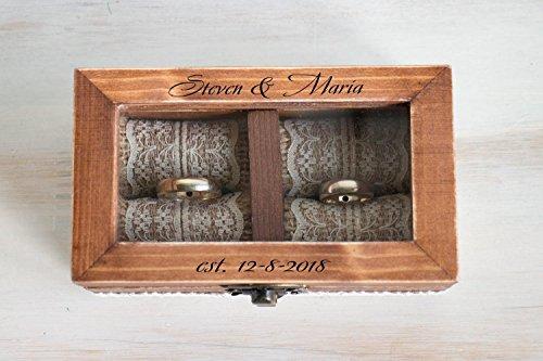 Wedding Ring Box.Wedding Ring Box Personalized Wedding Box Ring Bearer Box Ring Bearer Pillow Engagement Box Custom Wedding Ring Box Wedding Ring Holder