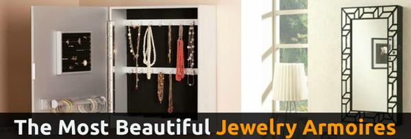 Beautiful Jewelry Armoires
