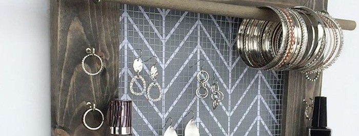 Beautiful Picture Frame Jewelry Holders