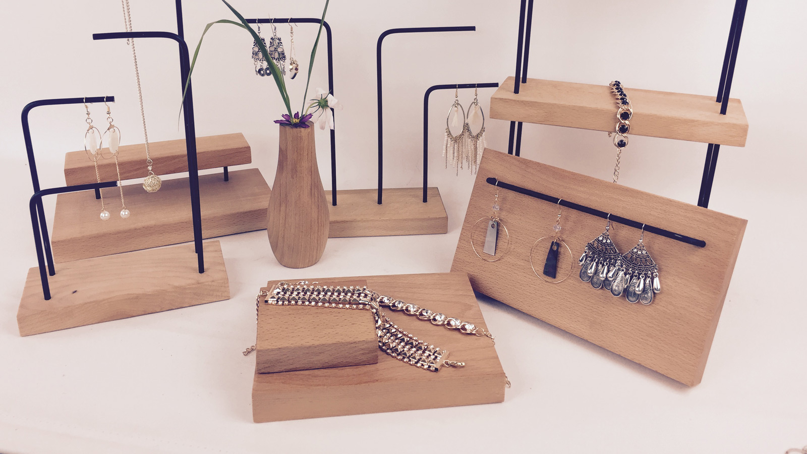 Wooden Jewelry Holders for Sale