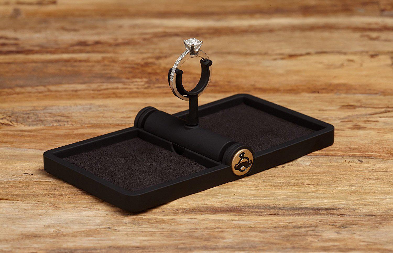 Beautiful Compact Engagement Ring Holder Box