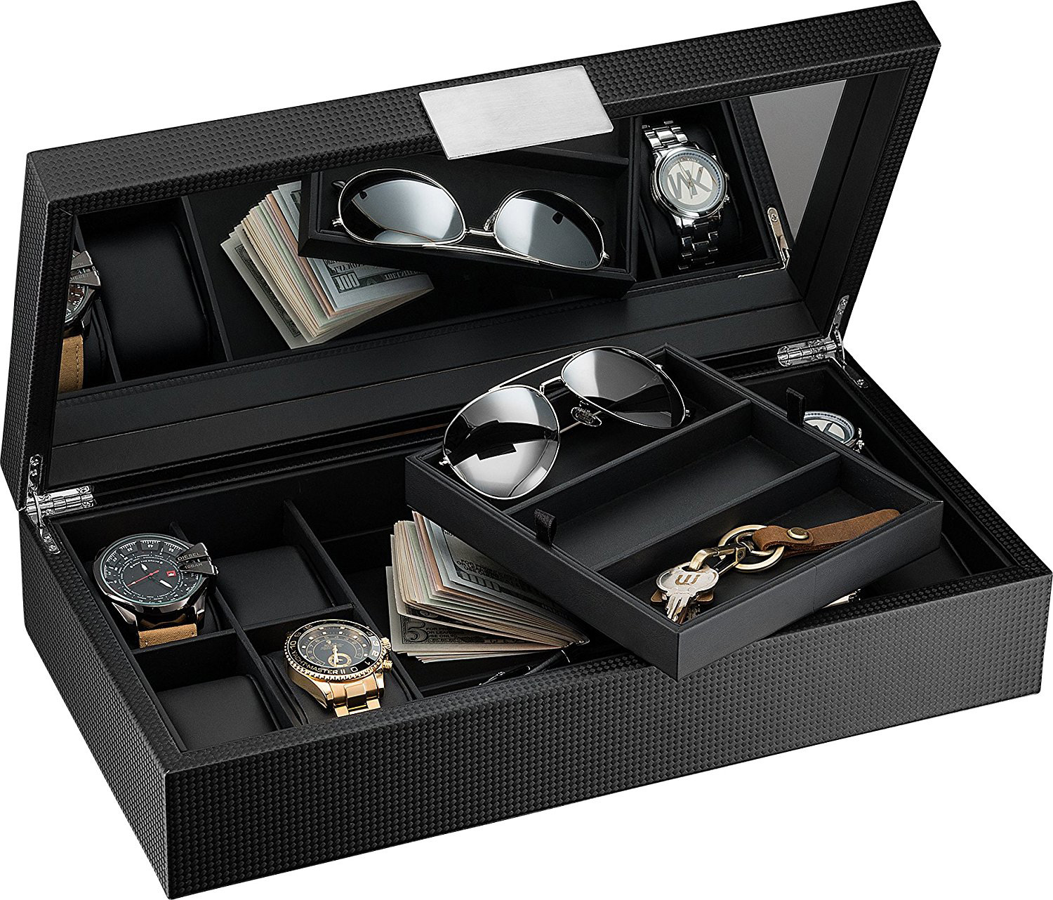 25 Beautiful Men S Jewelry Boxes Zen Merchandiser