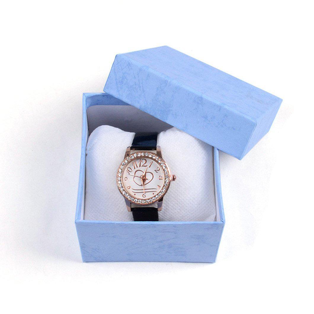 Cute Light Blue Simple Jewelry Box