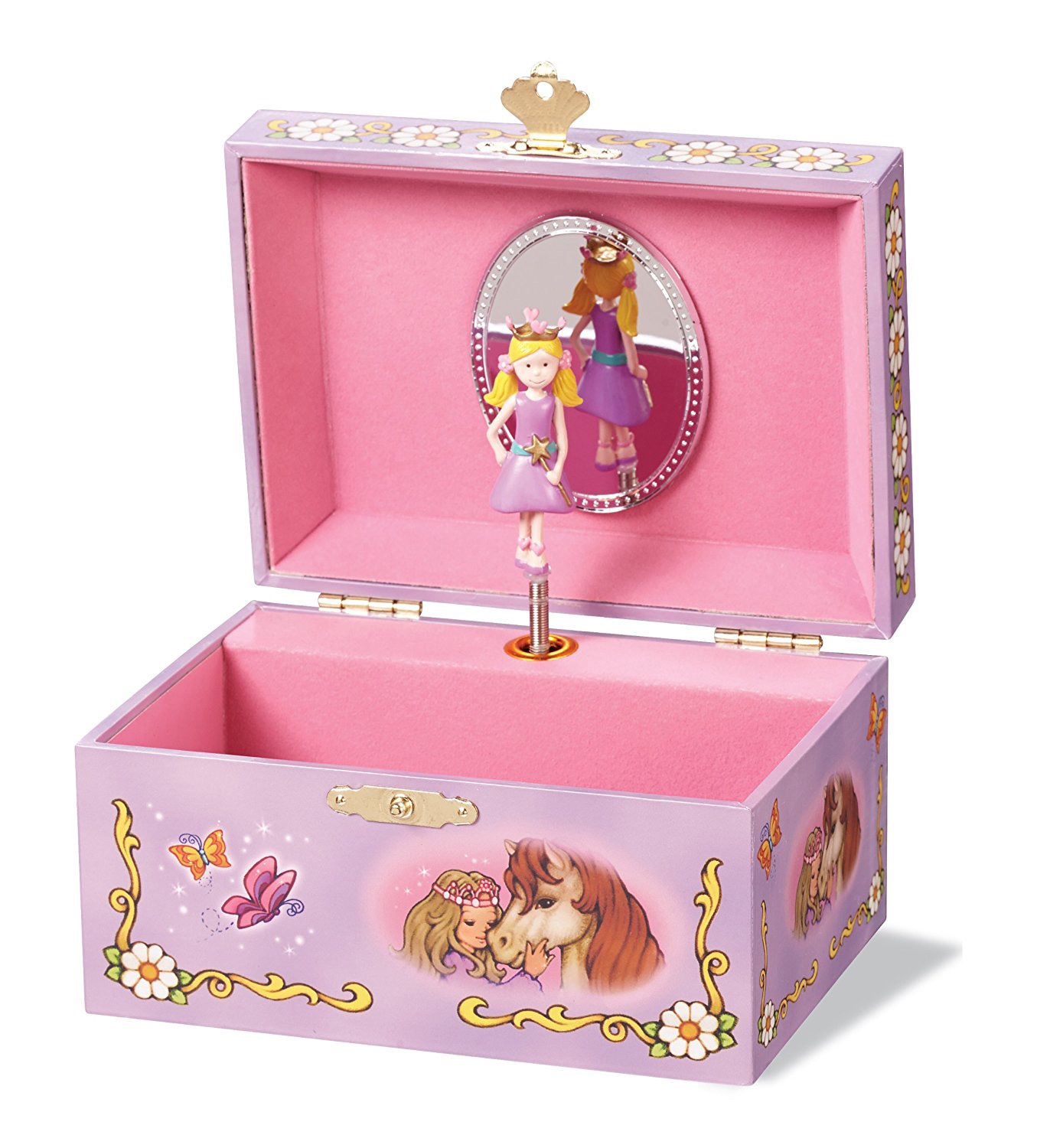 The 15 best girls 39 jewelry boxes zen merchandiser for Amazon ballerina musical jewelry box