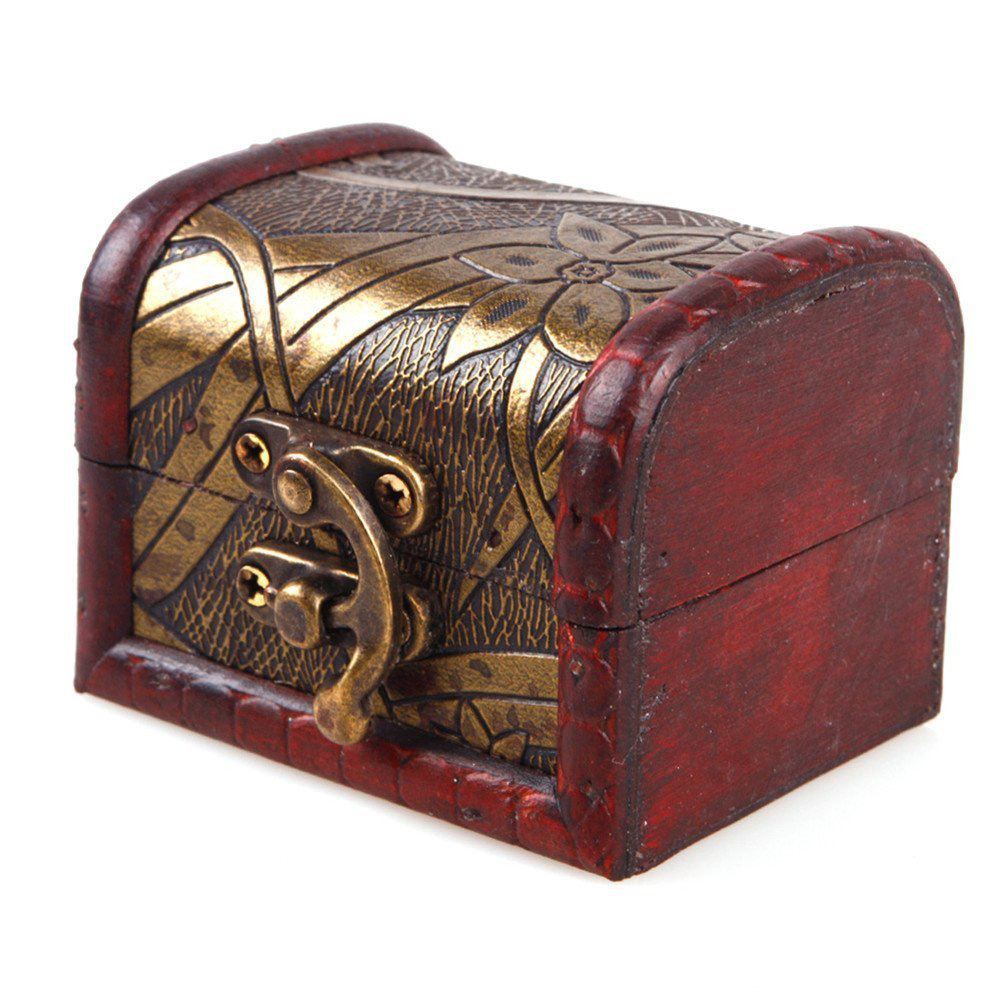 Cute Antique Style Jewelry Chest Box
