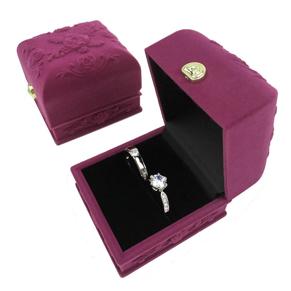 Cute Purple Jewelry Gift Box
