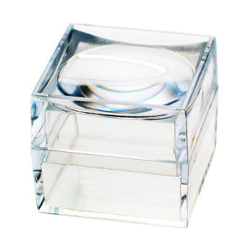 Simple Transparent Small Acrylic Jewelry Box