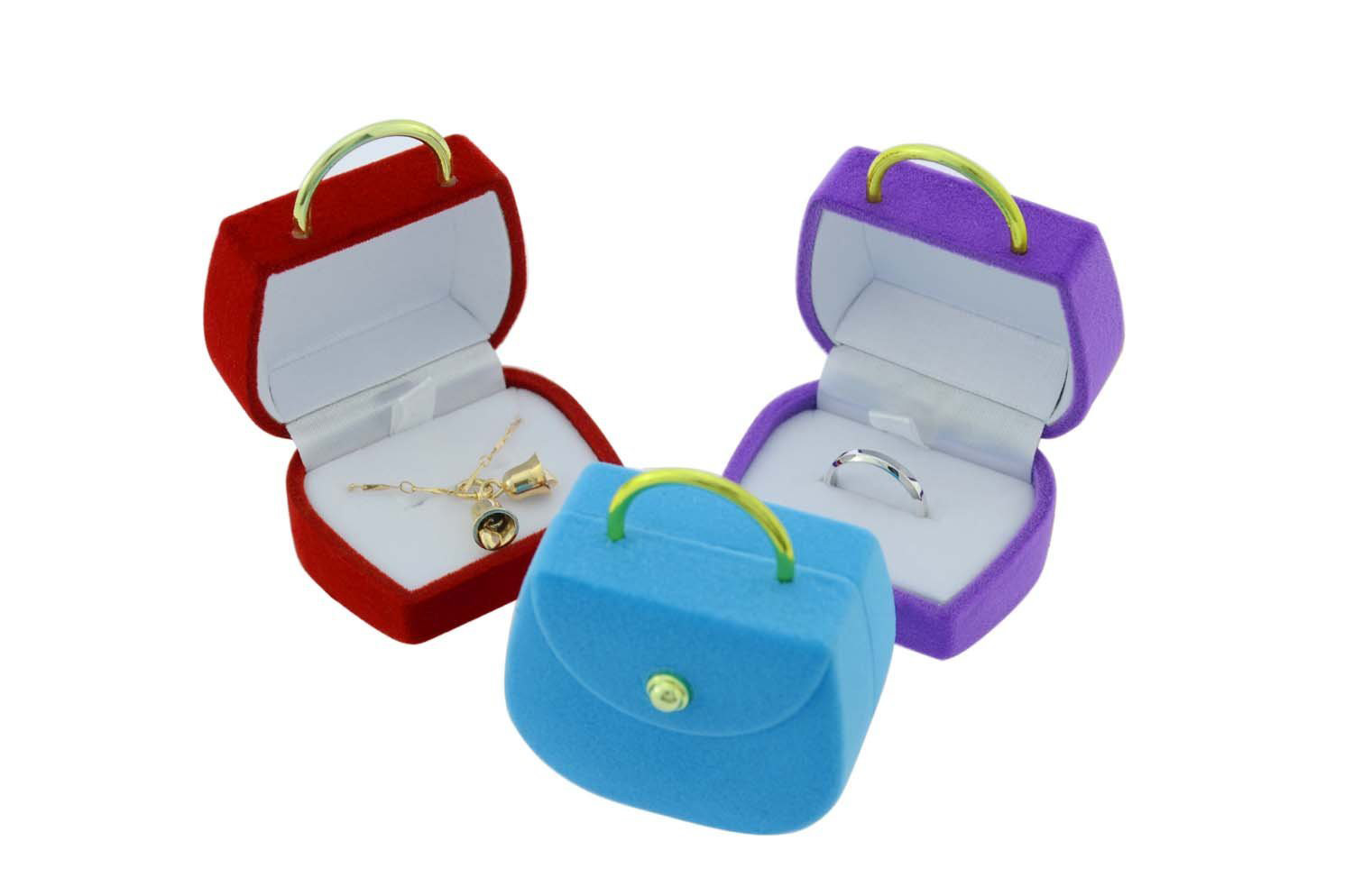 Cute Multicolored Engagement Ring Boxes