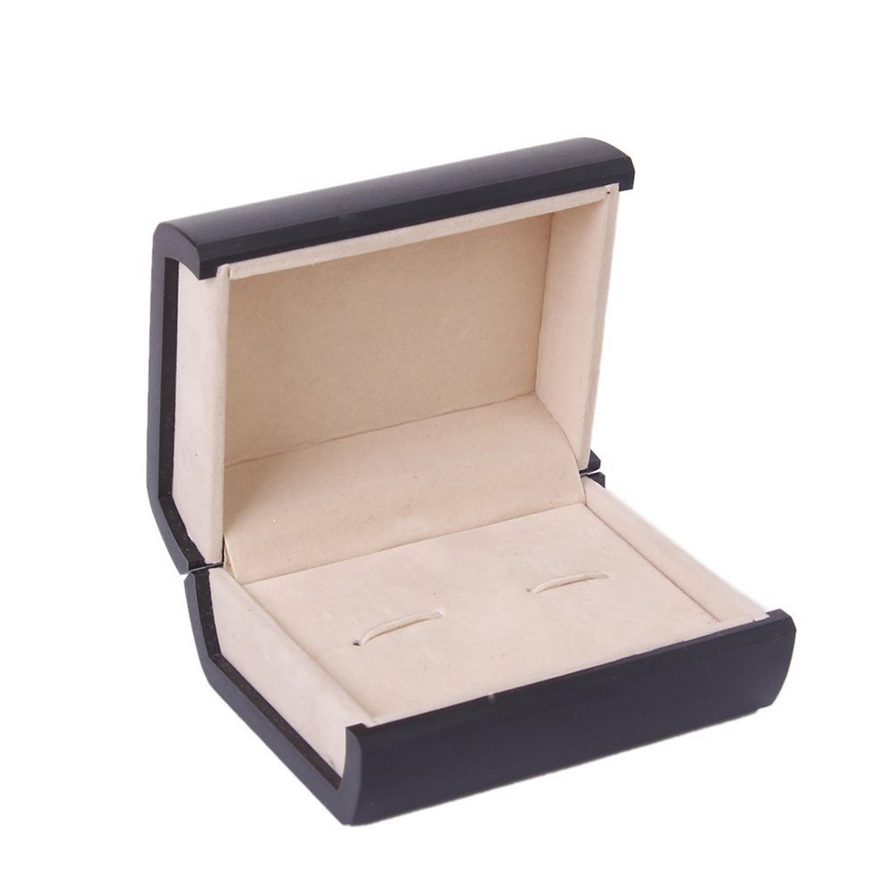Elegant Dark Brown Earring Box