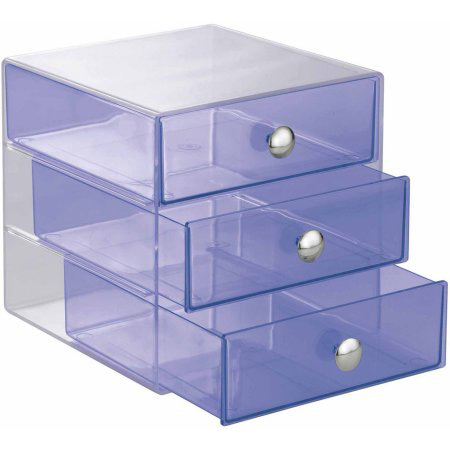 Cute Purple Tint Stacking Jewelry Box