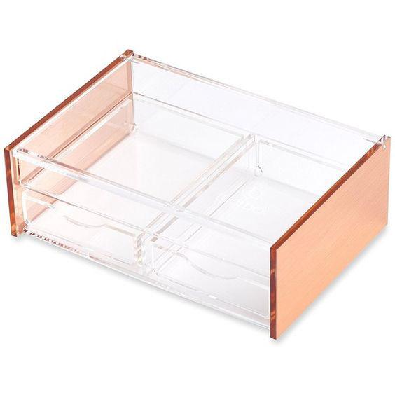 Beautiful Wide Acrylic Jewelry Tray Boxes