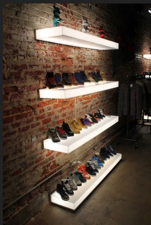 Types Of Footwear Displays Stands Organizers Zen Merchandiser