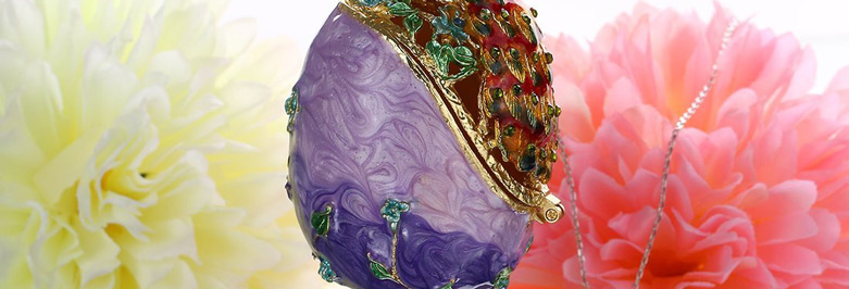 Beautiful Faberge Jewelry Boxes