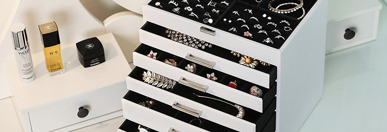 Beautiful White Jewelry Boxes