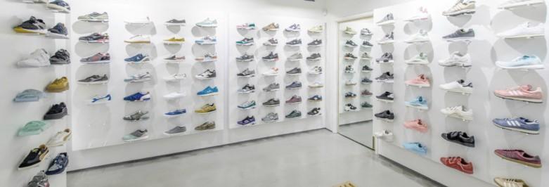 Exhibition Stand Shoes : Types of footwear displays stands organizers zen merchandiser