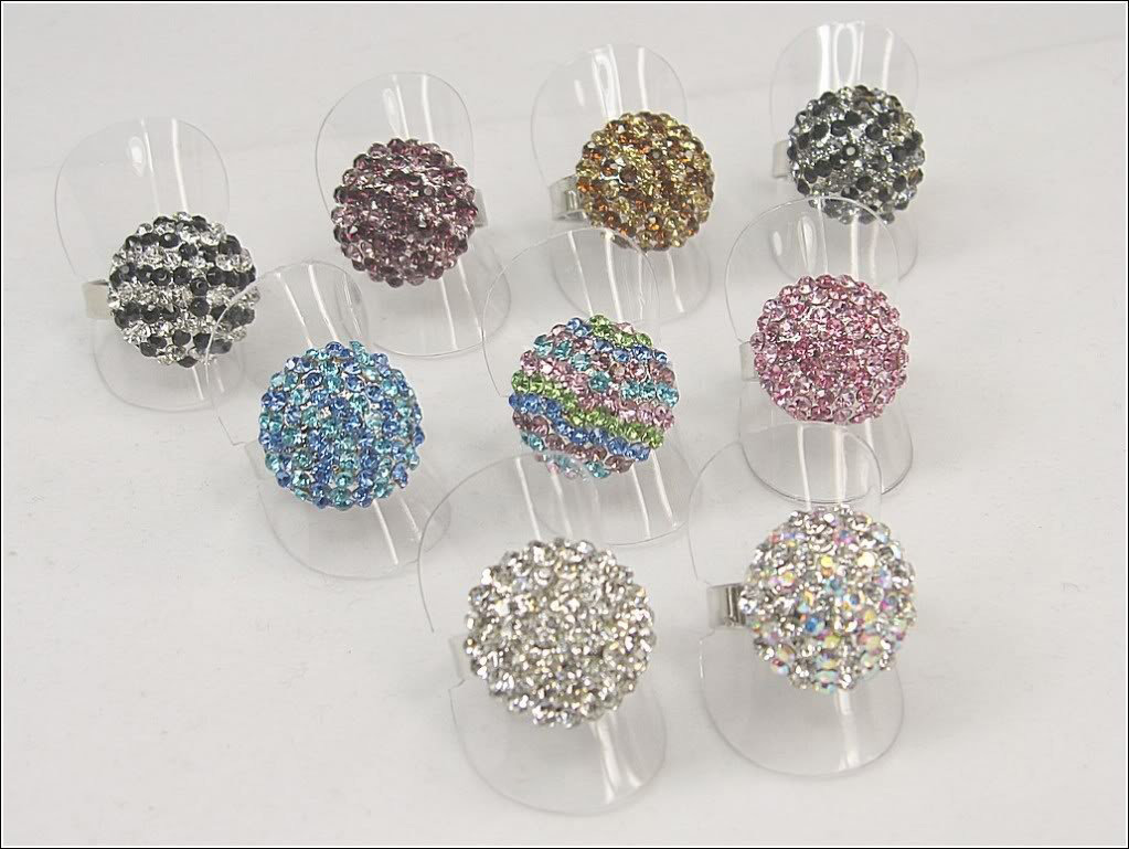 Creative Acrylic Small Ring Holders