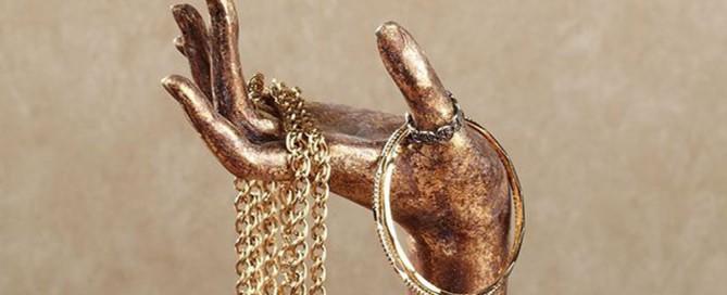 Best Golden Jewelry Holders