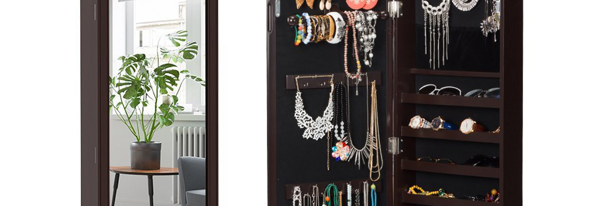 View Larger Image Best Over The Door Jewelry Armoires
