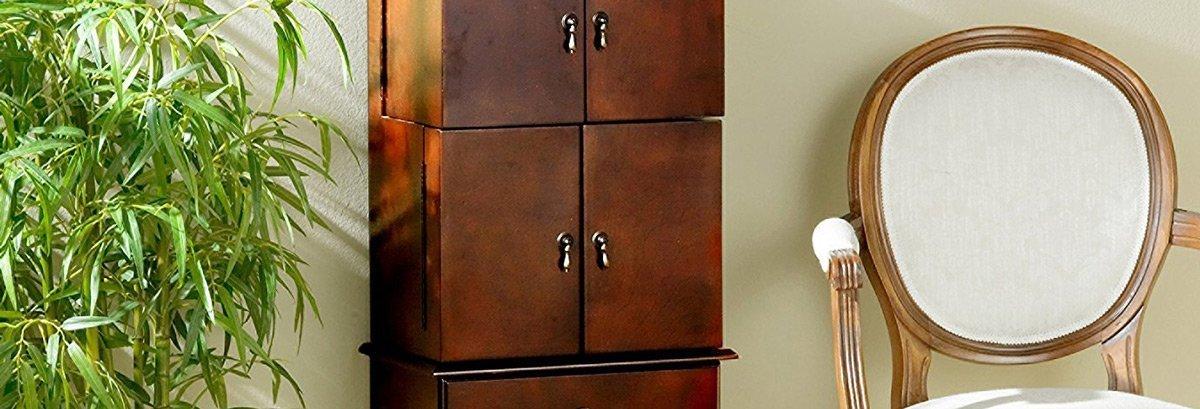 The 15 Best Rustic Jewelry Armoires Zen Merchandiser