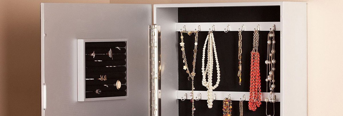 Best Wall Mounted Jewelry Armoires