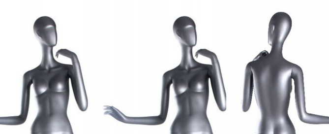 The Best Silver Mannequins
