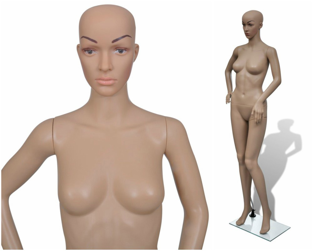 ZM-101 - Olivia - Tan Realistic Female Mannequin