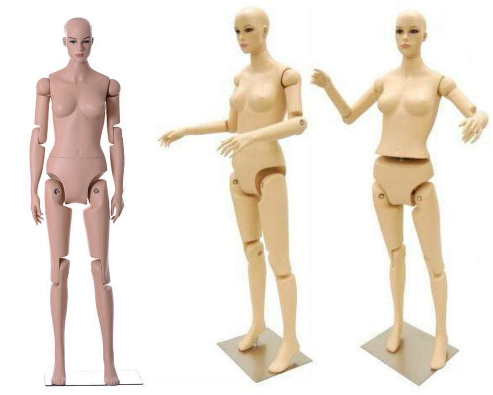 ZM-105 - Madison - Posable Flexible Realistic Female Mannequin