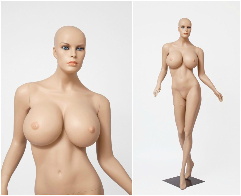 ZM-108 - Charlotte - Sexy Realistic Female Mannequin