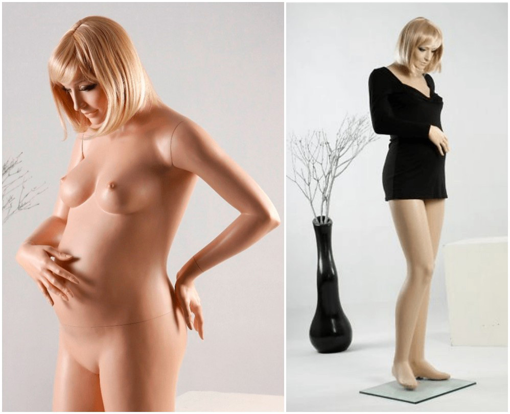 ZM-109 - Emily - Realistic Pregnant Mannequin