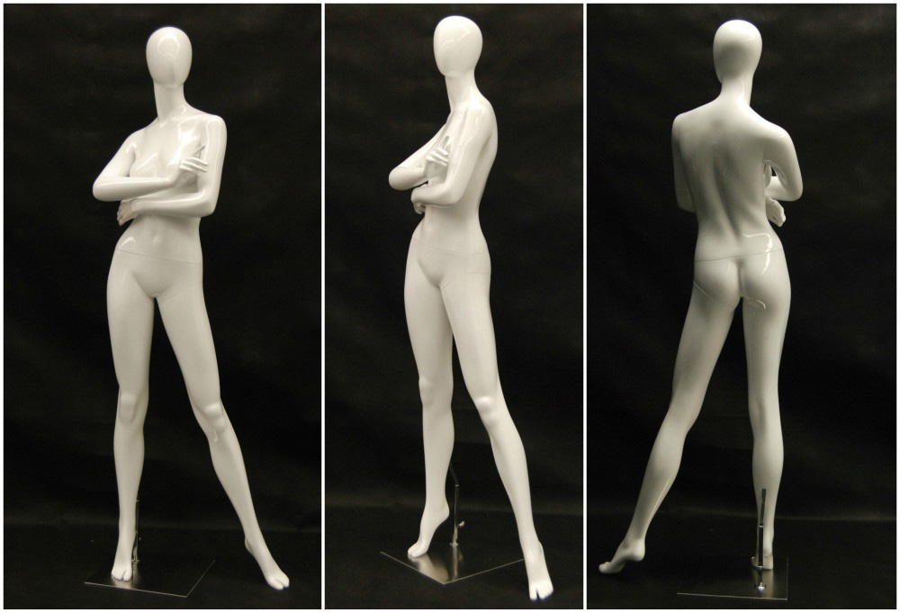 ZM-1114 - Amira - Elegant Posing Abstract White Female Mannequin