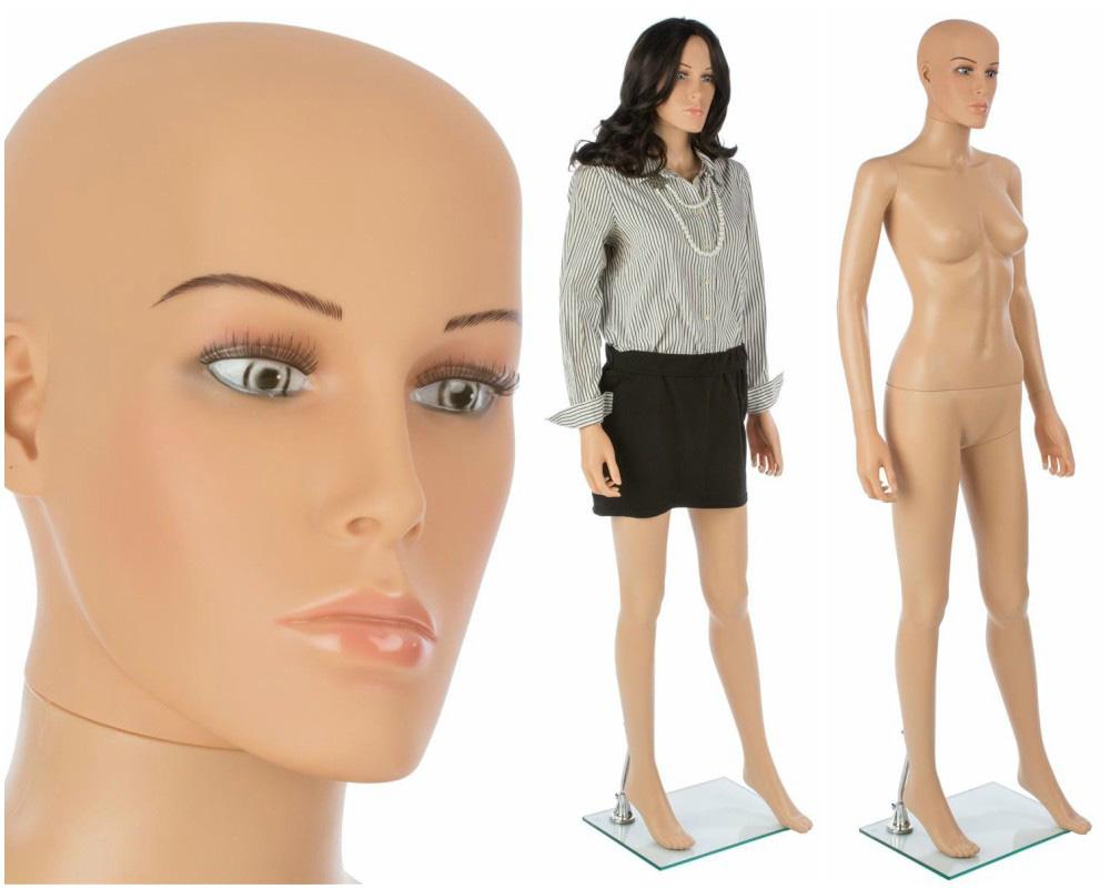ZM-114 - Sophia - Tan Realistic Female Mannequin