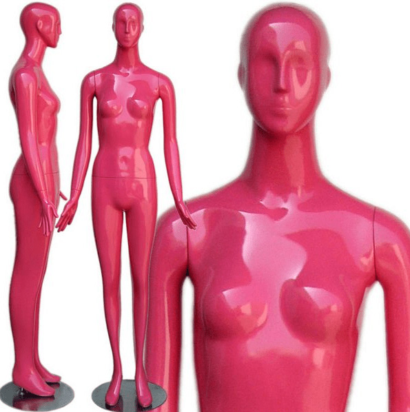 ZM-1202 - Raven - Strong Pink Classic Female Mannequin