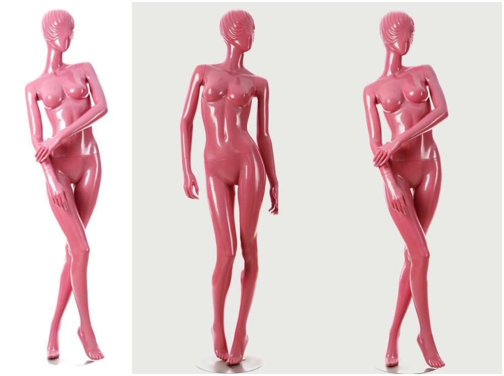 ZM-1206 - Aubrie - Light Pink Classic Female Mannequin
