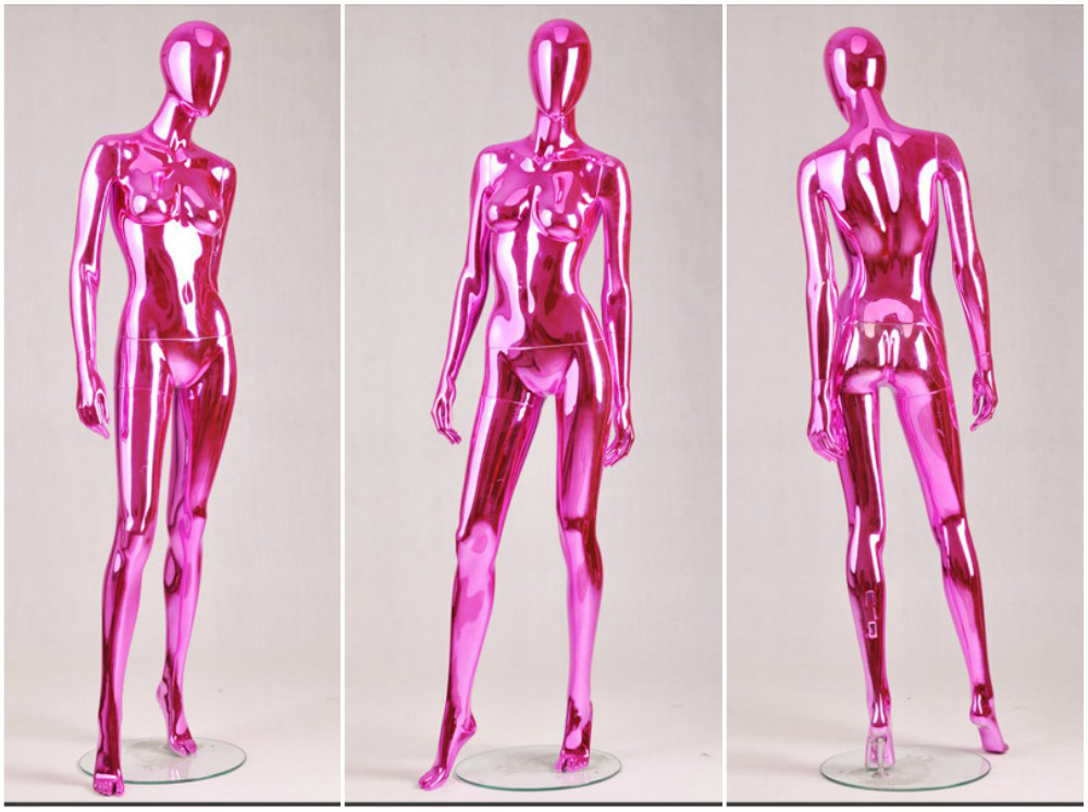 ZM-1207 - Carly - Intense Glossy Pink Female Mannequin