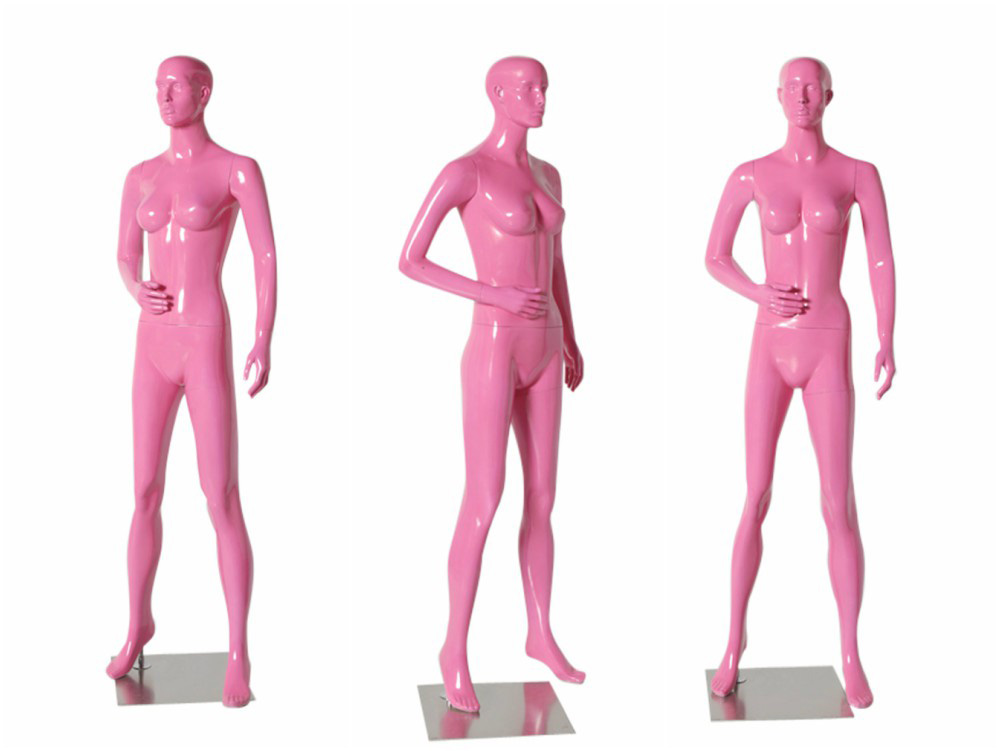 ZM-1209 - Helen - Pink Abstract Female Classic Mannequin