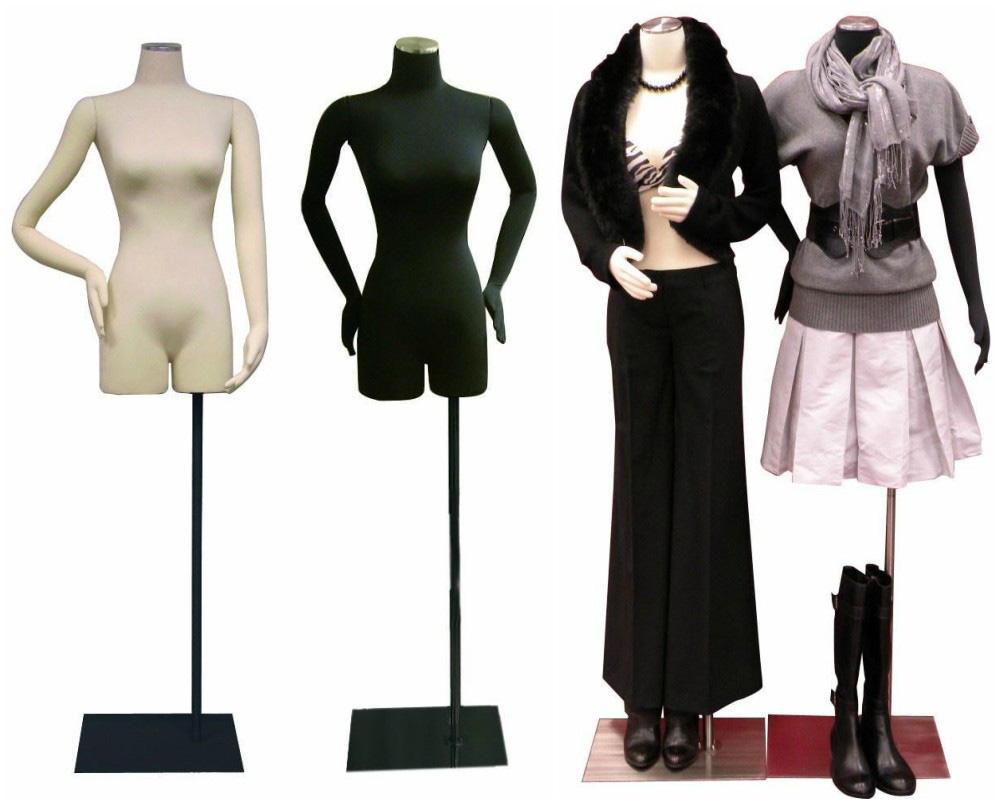 ZM-1604 - Ruby - Minimalist Fabric Dress Form Mannequins