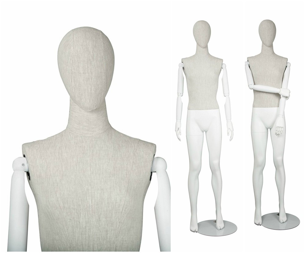 ZM-1607 - Owen - Creative Flexible Fabric Mannequin