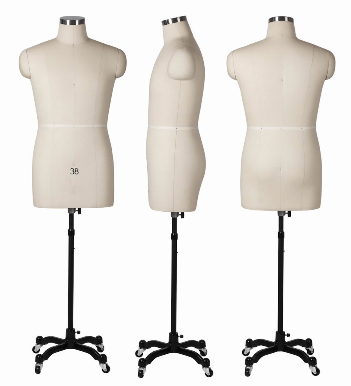 ZM-1611 - Maya - Professional Fabric Dress Form Mannequin