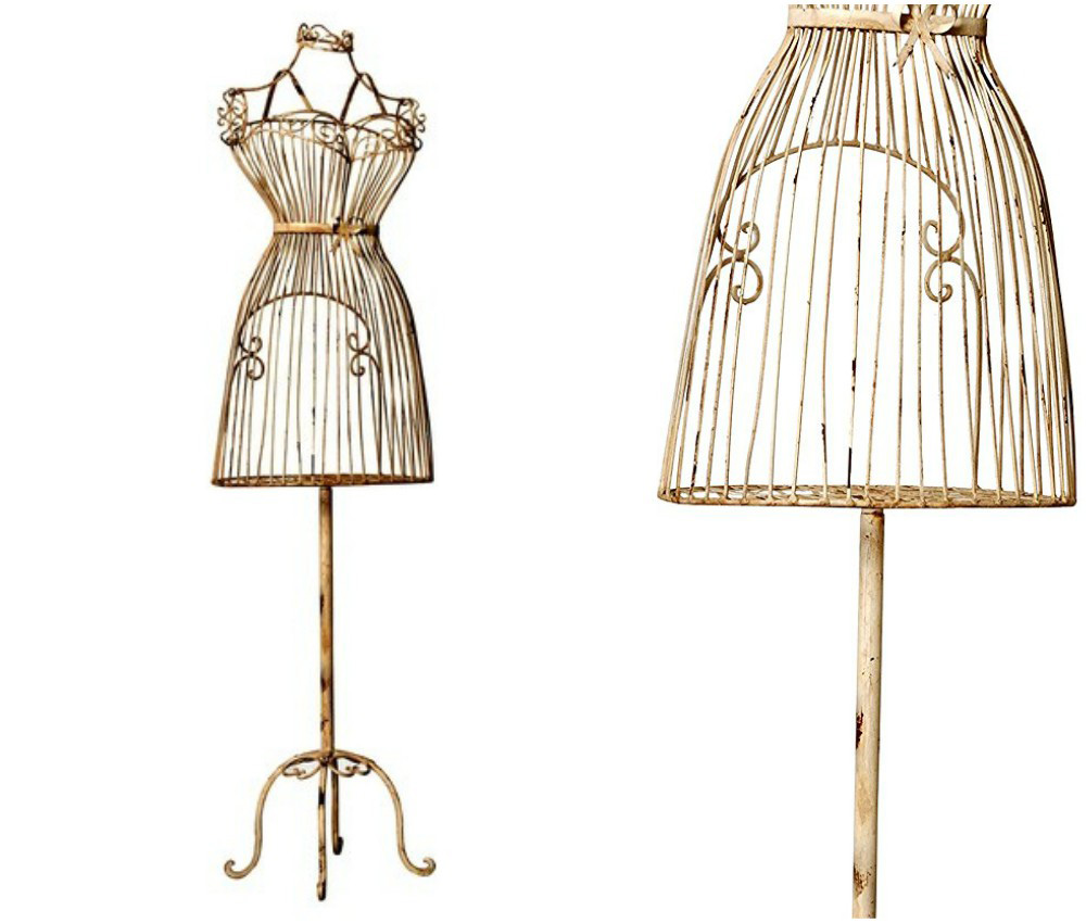 ZM-1805 - Athena - Metal Wire & Wooden Design Mannequin