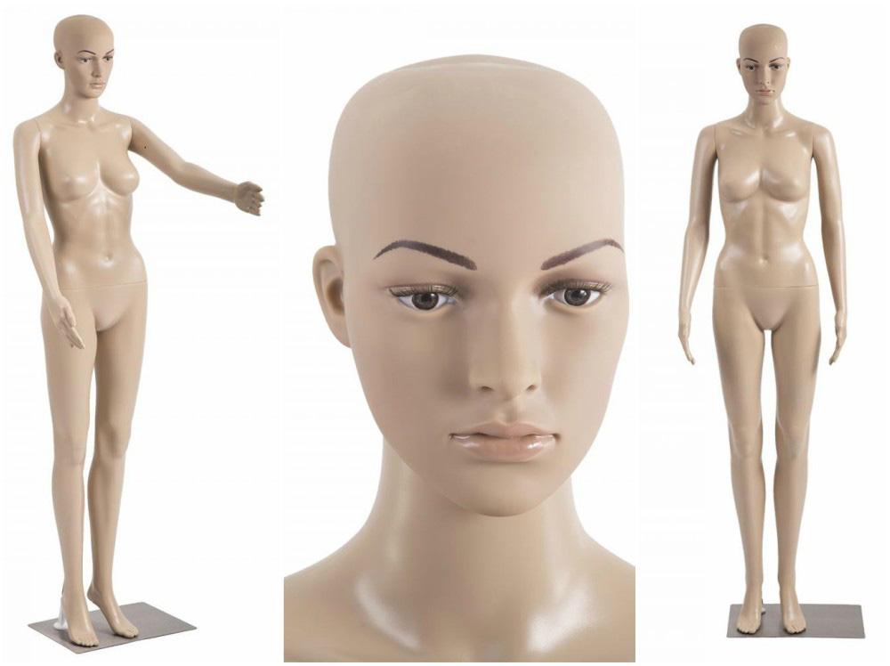ZM-1902 - Vivian - Realistic Female Plastic Mannequin