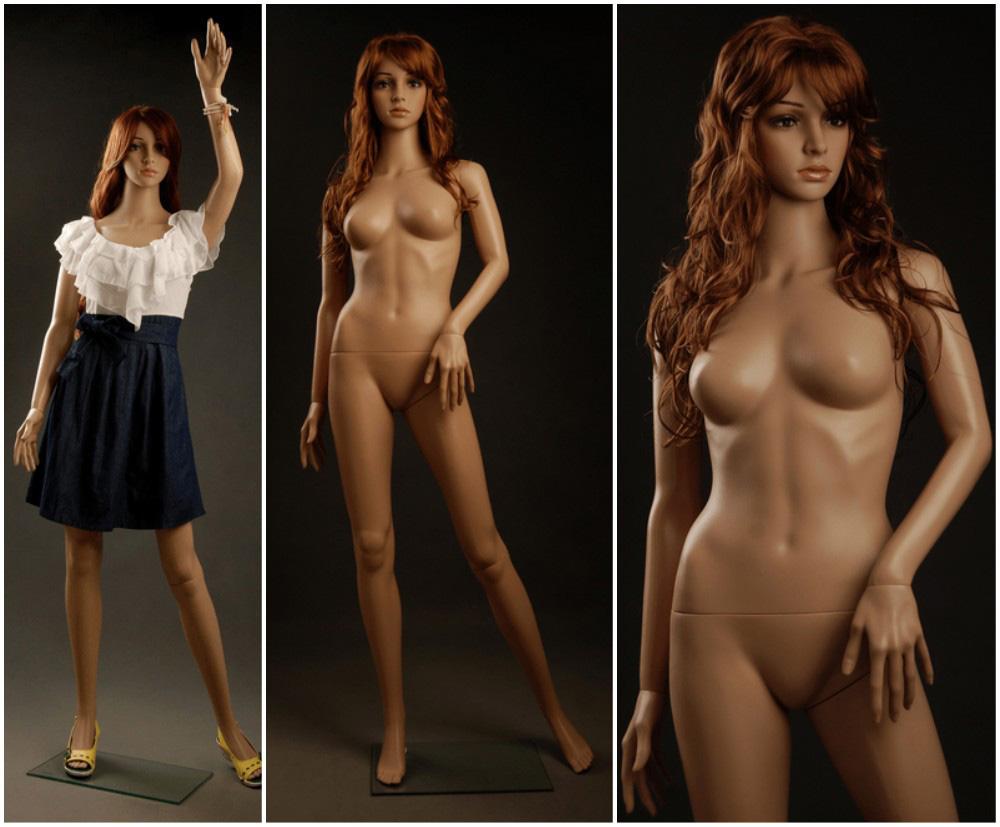 ZM-1911 - Keria - Sexy Slim Plastic Female Mannequin